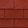 conservatory roof slates brick red