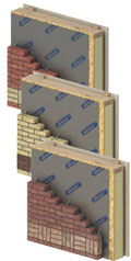 home extension wall system brick120