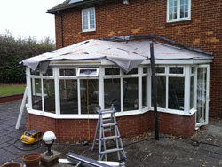 replacement conservatory roof installation tonbridge kent 5