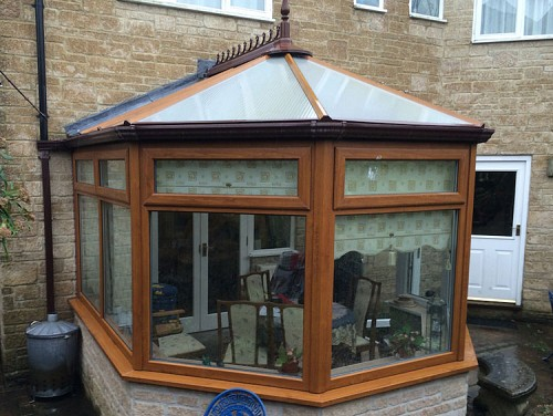 02 Replacement Conservatory Roof Dorset Before