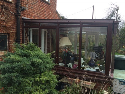02 Replacement Conservatory Roof Salisbury Wiltshire Before