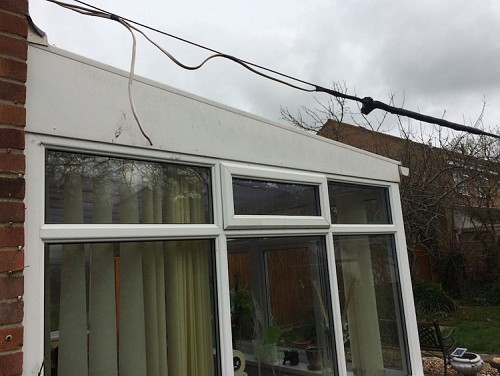 03 Replacement Conservatory Roof Somerset Before