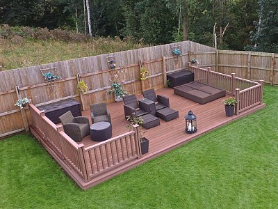 Composite wood decking005