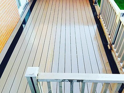 Composite wood decking008