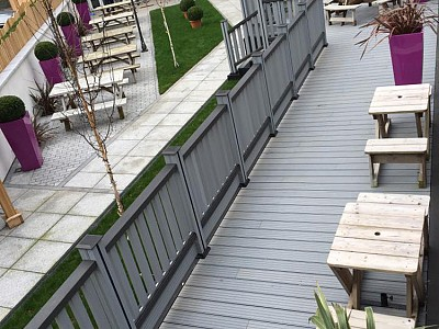 Composite wood decking009