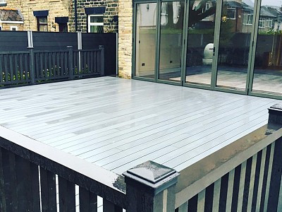 Composite wood decking011