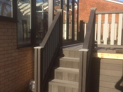 Composite wood decking012