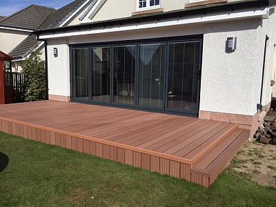 Composite wood decking014