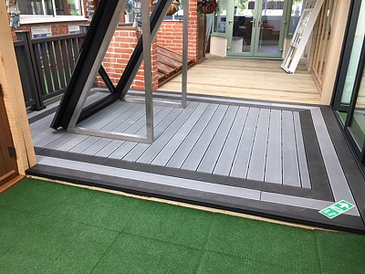Composite wood decking015