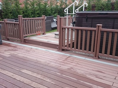 Composite wood decking017