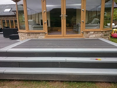 Composite wood decking024