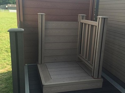 Composite wood decking033