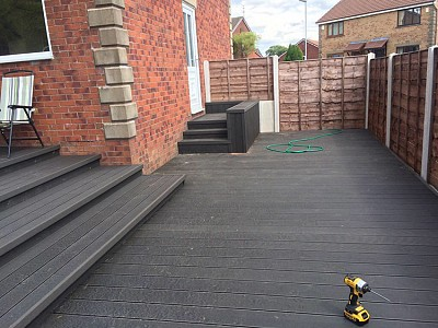 Composite wood decking039