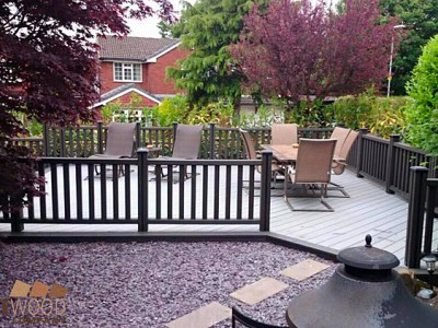Composite wood decking043
