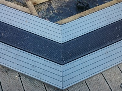 Composite wood decking044