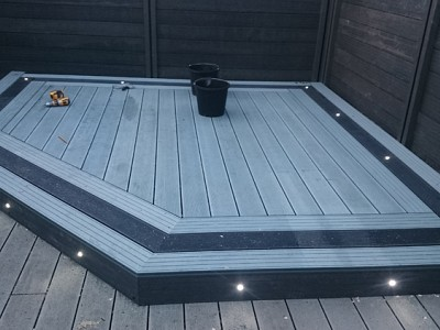 Composite wood decking045