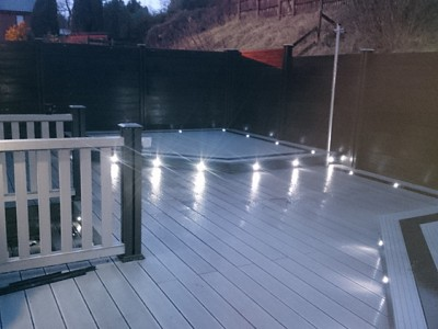 Composite wood decking050