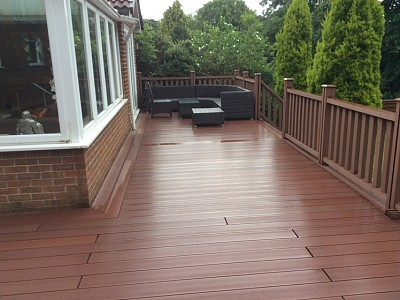 Composite wood decking064
