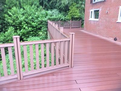 Composite wood decking067
