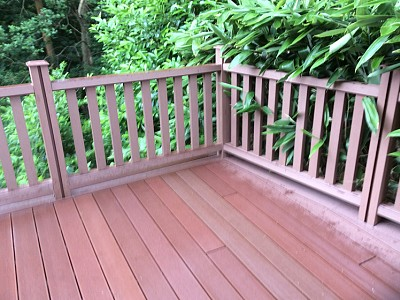 Composite wood decking071
