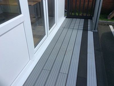 Composite wood decking090