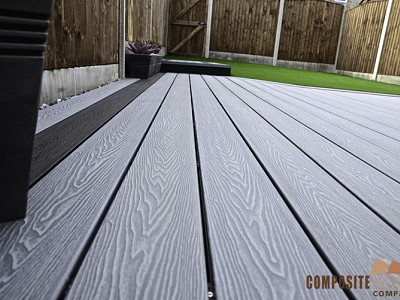 Composite wood decking097
