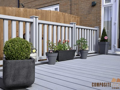 Composite wood decking098