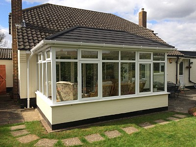 Conservatory roof external