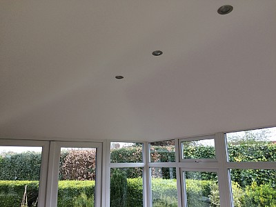 Conservatory roof internal