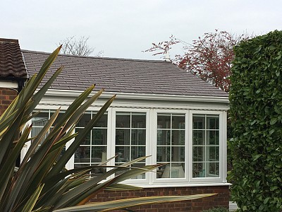 Gable end conservatory roof christchurch 2