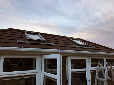 Replacement double hipped conservatory roof ferndown