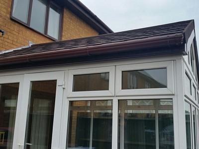 Replacement gable end conservatory roof dorset 7