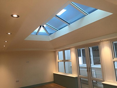 Replacement tiled orangery roof internal2
