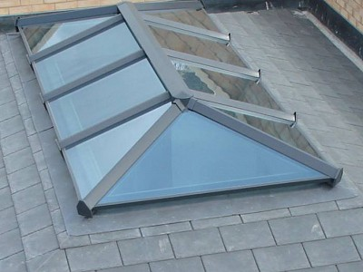 Replacement tiled orangery roof vents