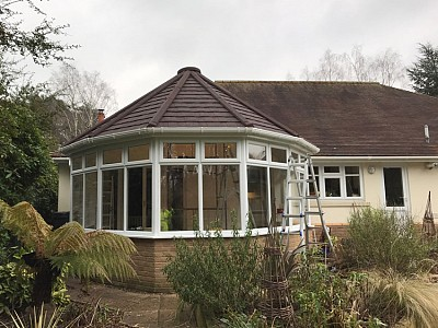 Replacement tiled victorian roof 2