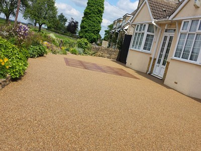 Resin stone drive ferndown 13 completed